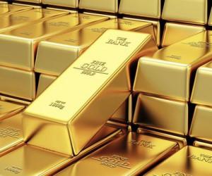 Цена золота на Лондонской бирже упала на 0.3% с