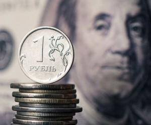 Рубль пытается укрепиться  ниже 77 после сильного