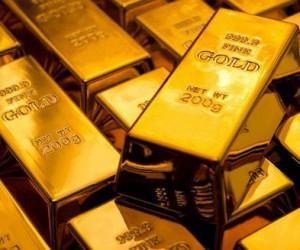 Золото вырвалось из диапазона благодаря слабости