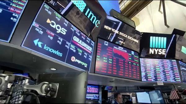 Фондовый рынок США перед выходными ушел в минус
