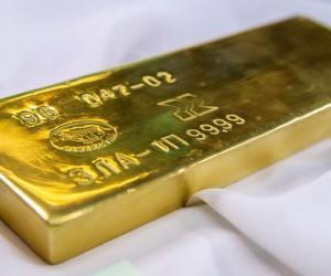 Курс золота неожиданно обвалился до отметки 1734$